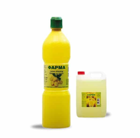 Lemon Dressing Φάρμα 370ml/4Lt Farma Lemon Dressing