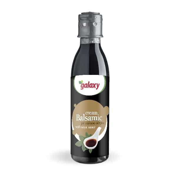 Κρέμα βαλσαμικό με σόγια - Balsamic cream with soya