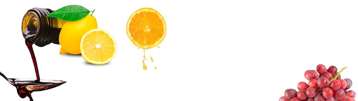 Grapes LEmon Orange and honey decorative image